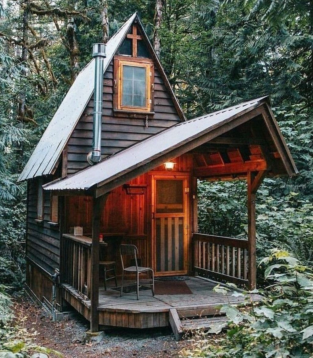 Amazing Rustic Tiny House Design Ideas 17
