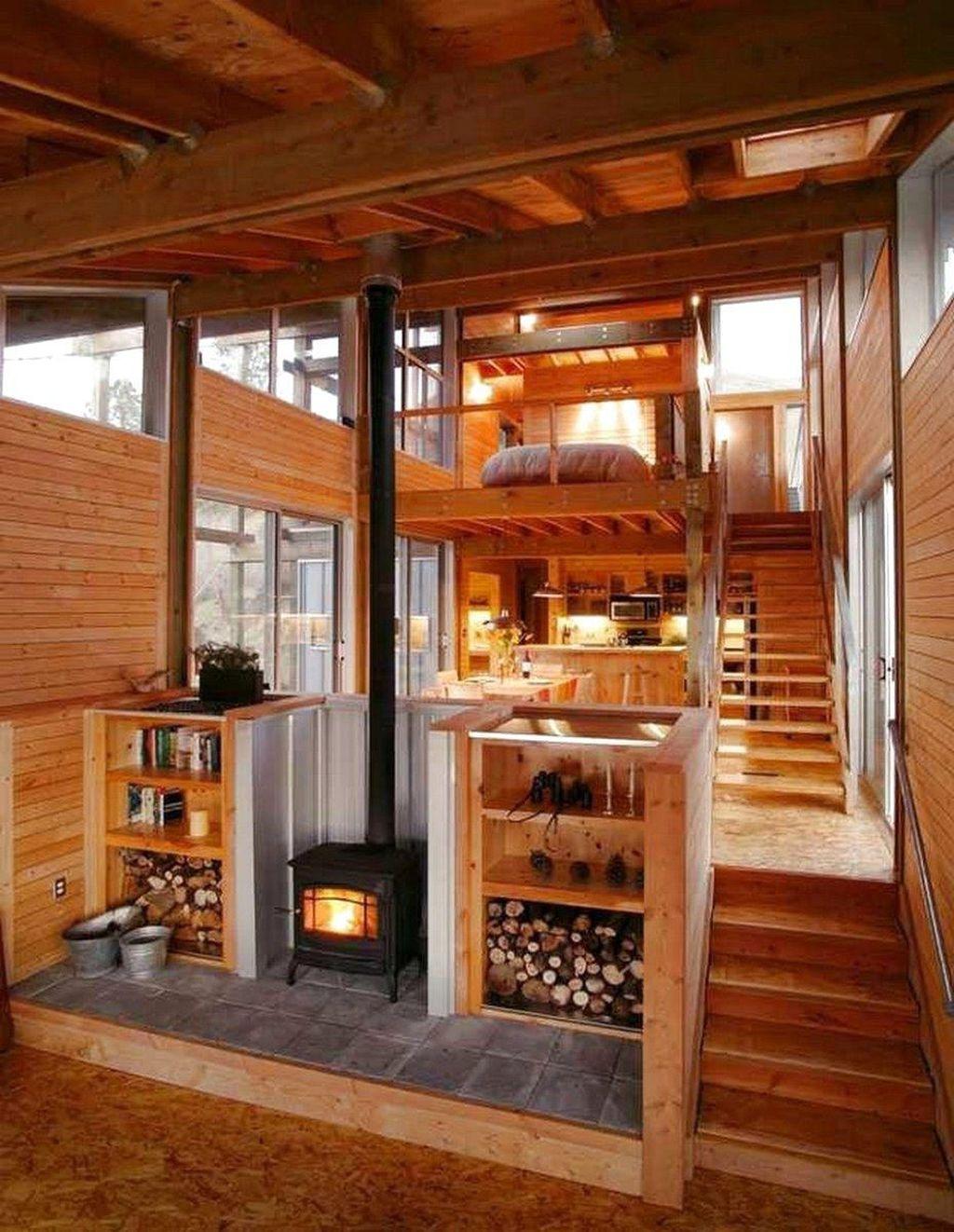 Amazing Rustic Tiny House Design Ideas 18