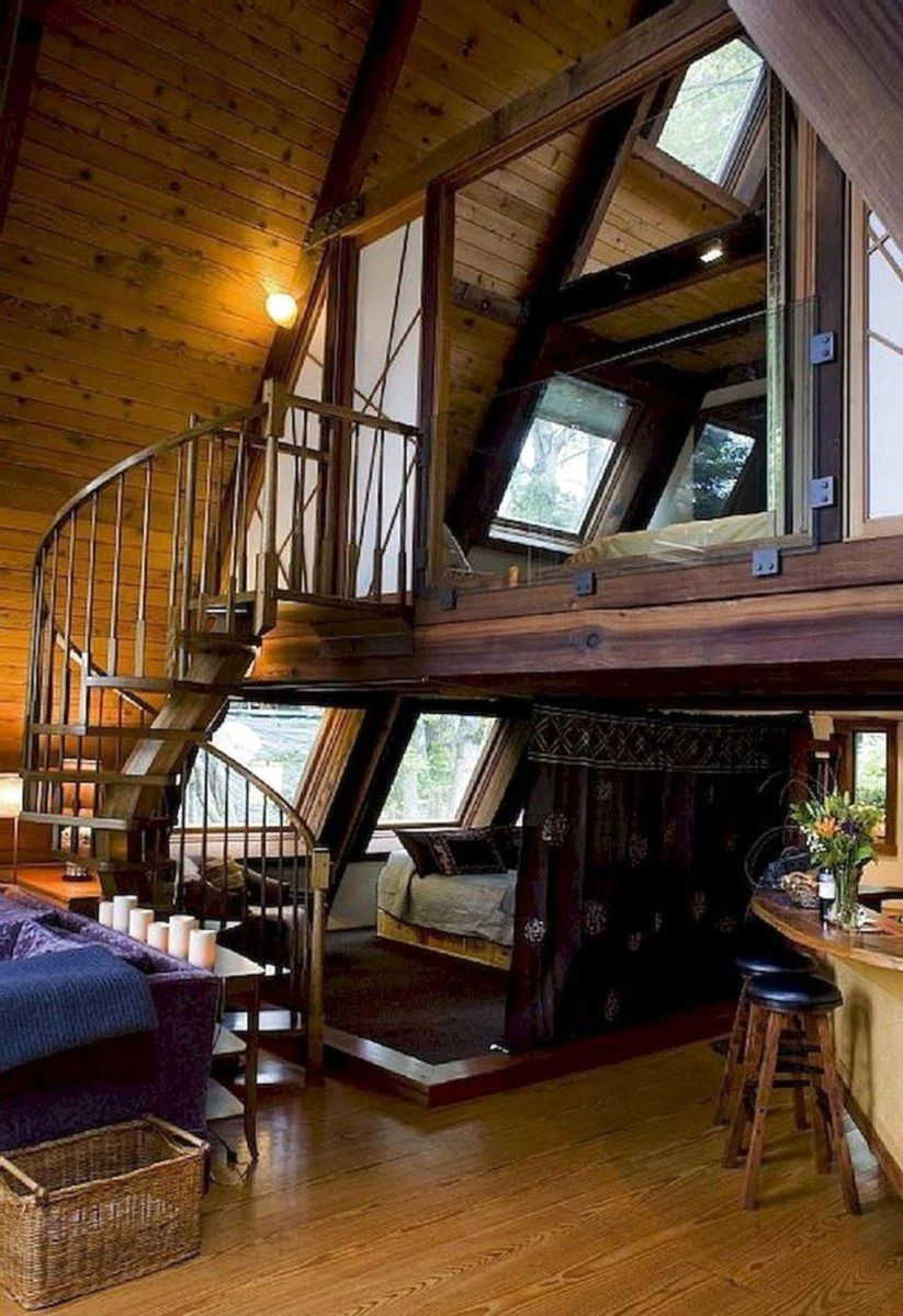 Amazing Rustic Tiny House Design Ideas 21