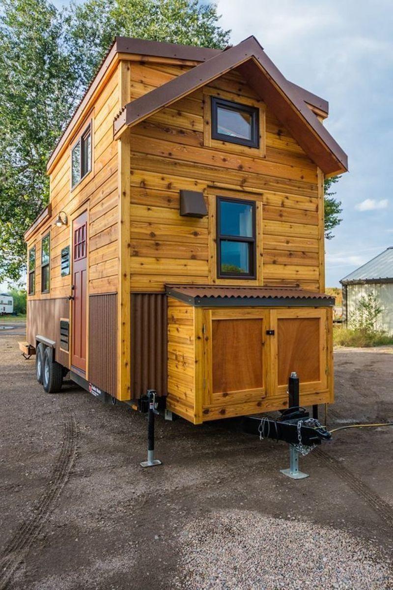 Amazing Rustic Tiny House Design Ideas 22