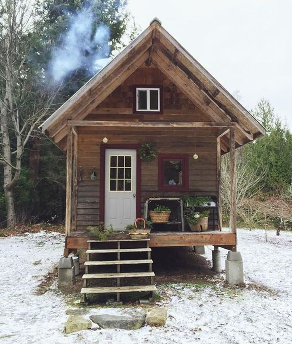 Amazing Rustic Tiny House Design Ideas 25