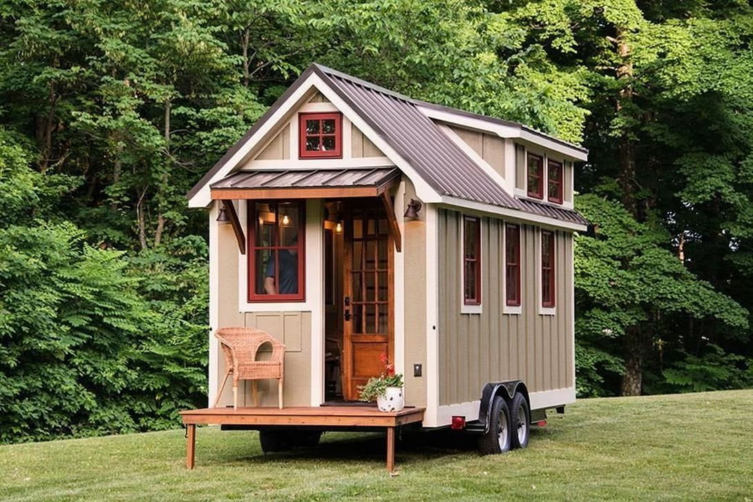 Amazing Rustic Tiny House Design Ideas 30