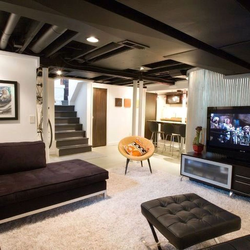Awesome Basement Remodel Ideas That You Can Try 07