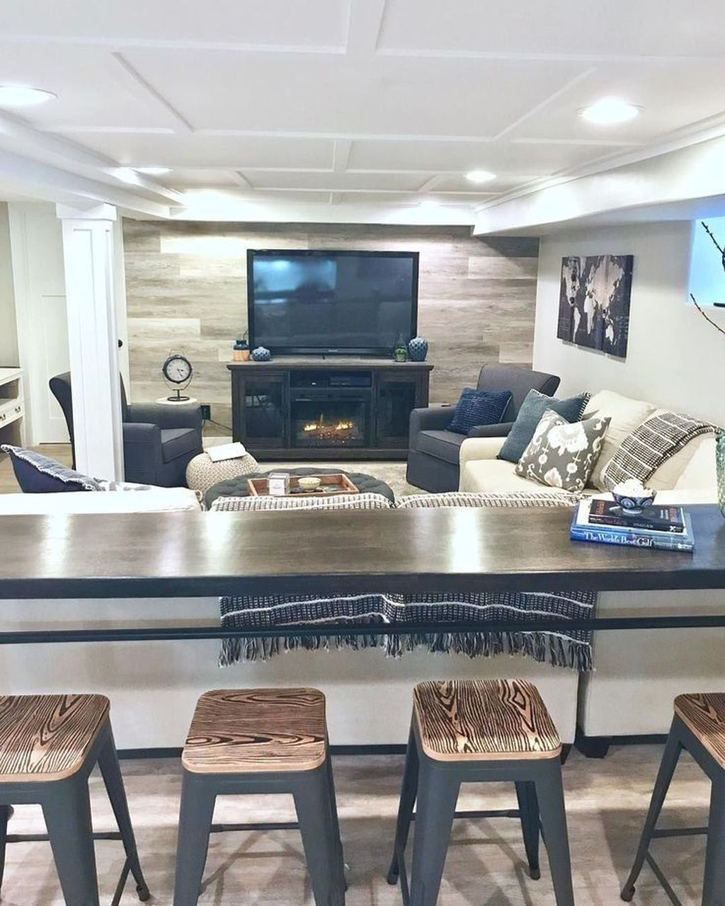 Awesome Basement Remodel Ideas That You Can Try 14