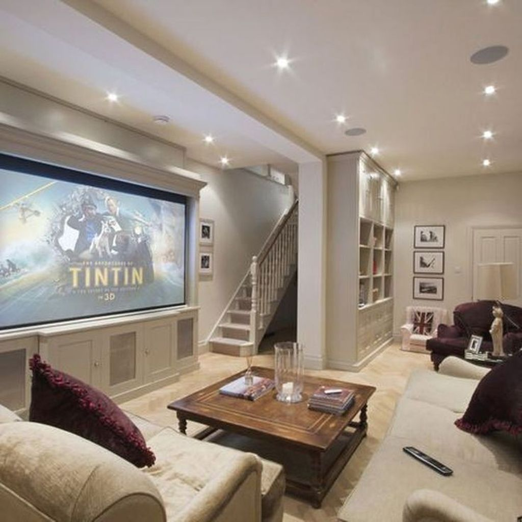 Awesome Basement Remodel Ideas That You Can Try 18