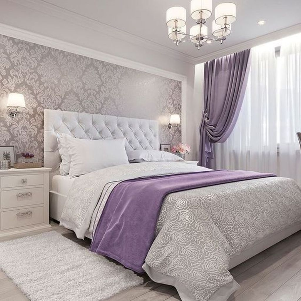 Beautiful White Master Bedroom Decorating Ideas 23