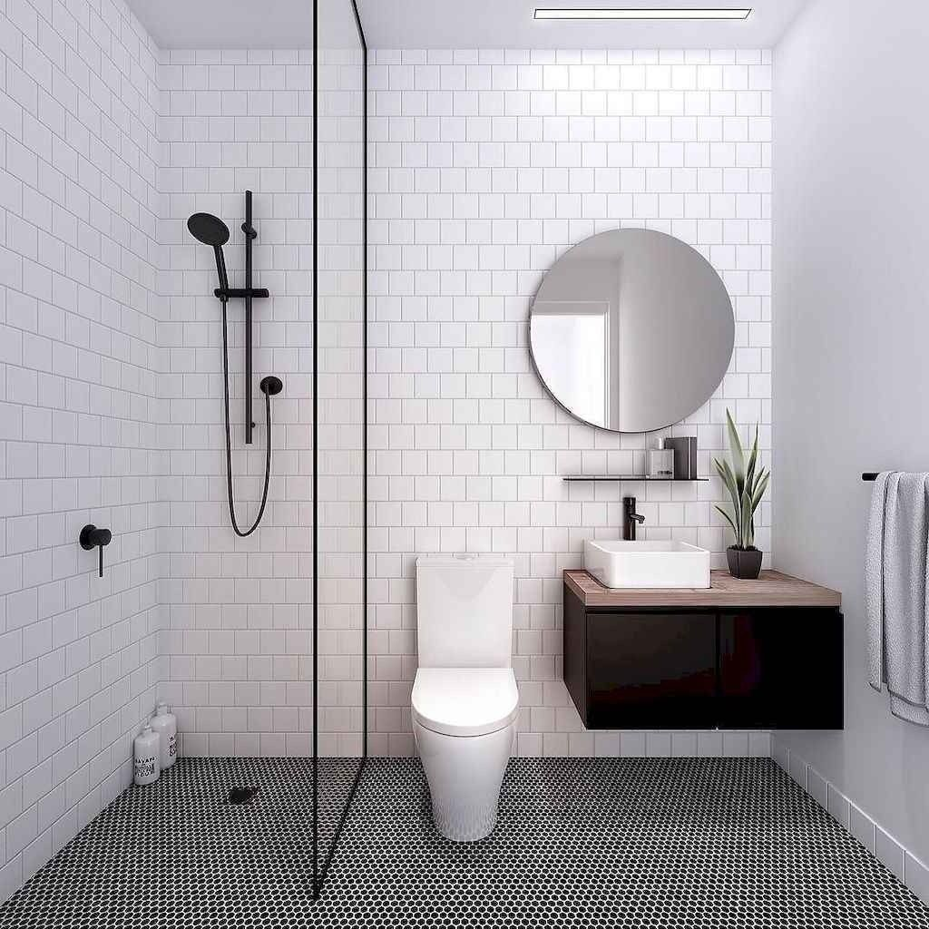 Fascinating Minimalist Bathroom Decoration Ideas 05