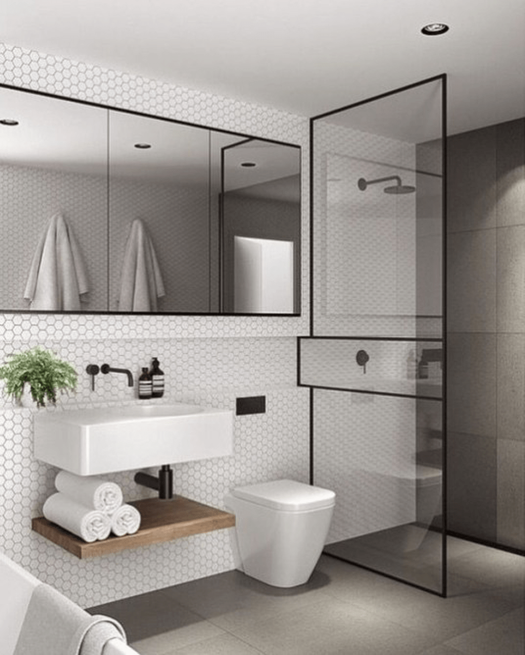 Fascinating Minimalist Bathroom Decoration Ideas 06