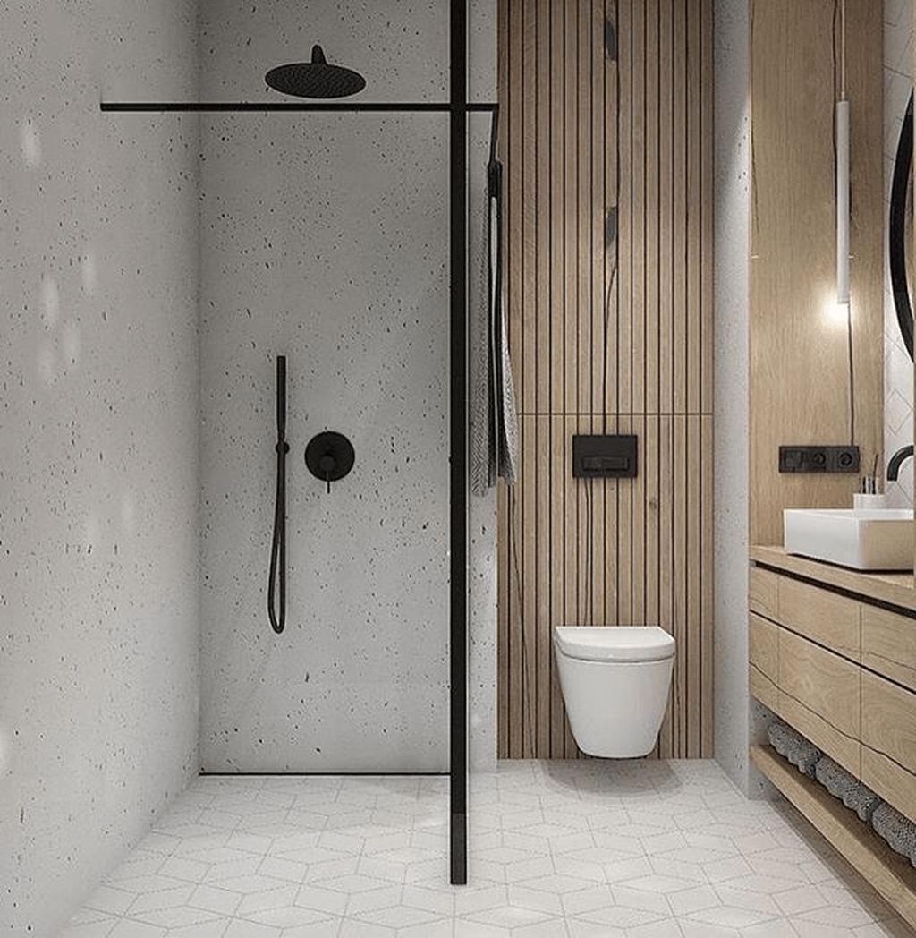 Fascinating Minimalist Bathroom Decoration Ideas 19