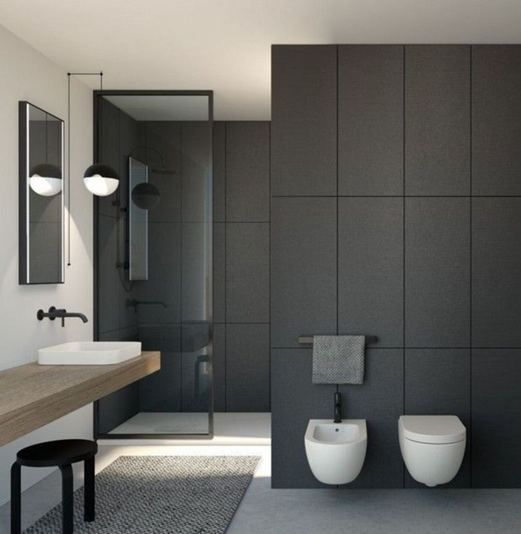Fascinating Minimalist Bathroom Decoration Ideas 24