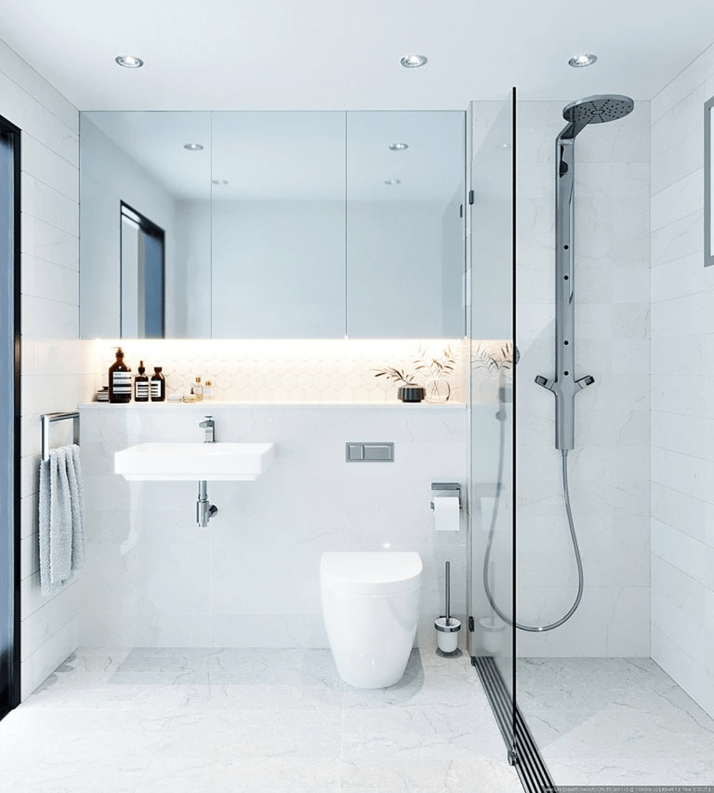 Fascinating Minimalist Bathroom Decoration Ideas 27