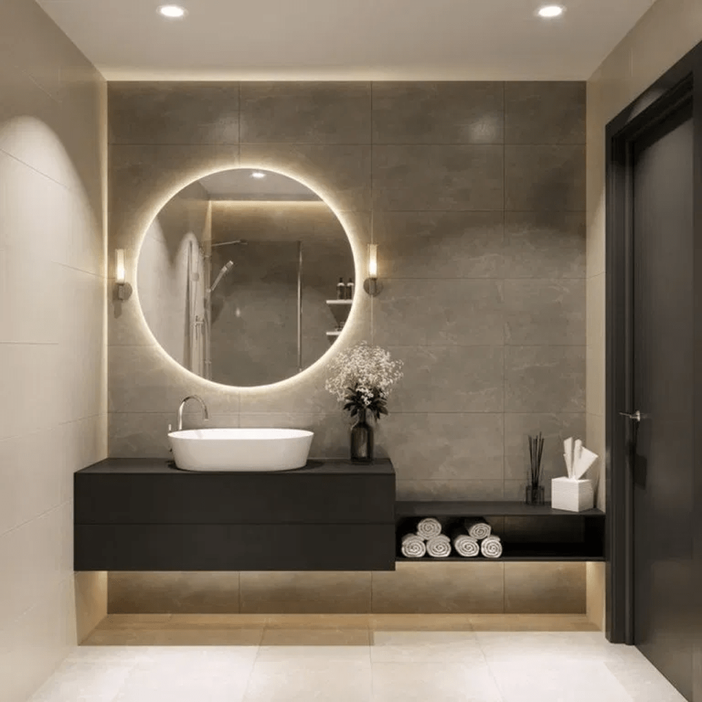 Fascinating Minimalist Bathroom Decoration Ideas 28