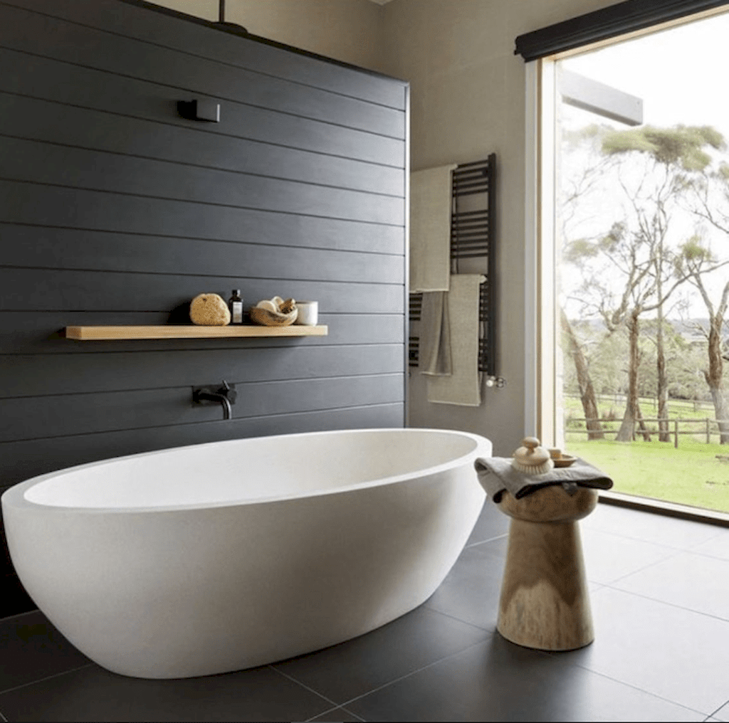 Fascinating Minimalist Bathroom Decoration Ideas 30