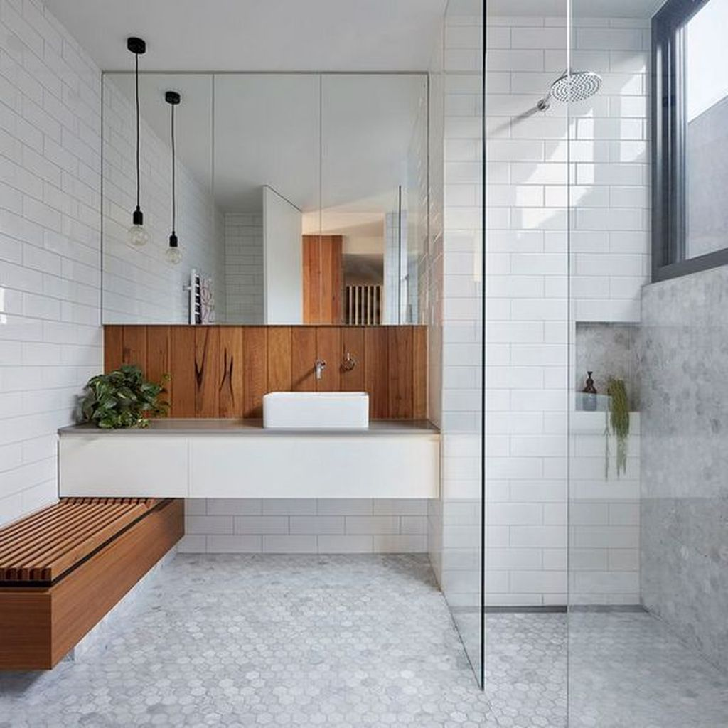 Fascinating Minimalist Bathroom Decoration Ideas 33