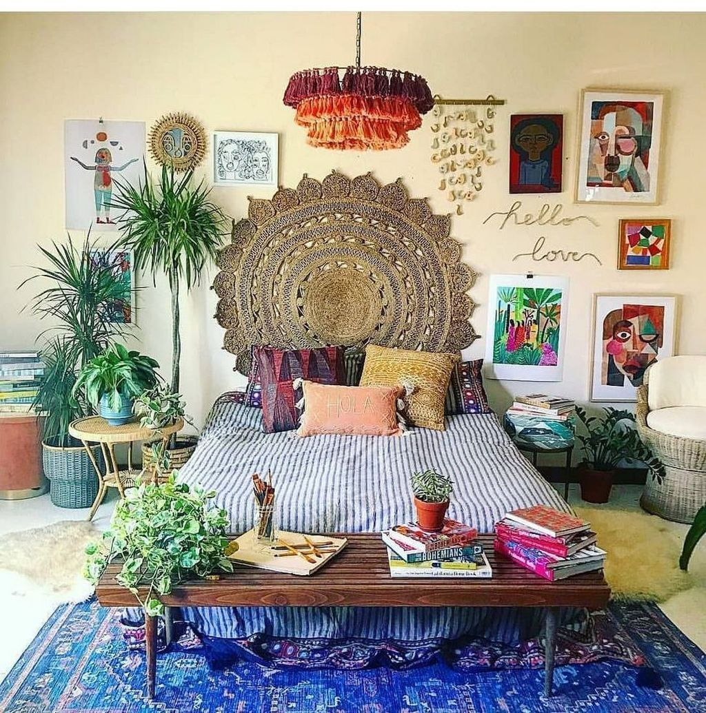 Gorgeous Bohemian Bedroom Decor Ideas You Can Try 20