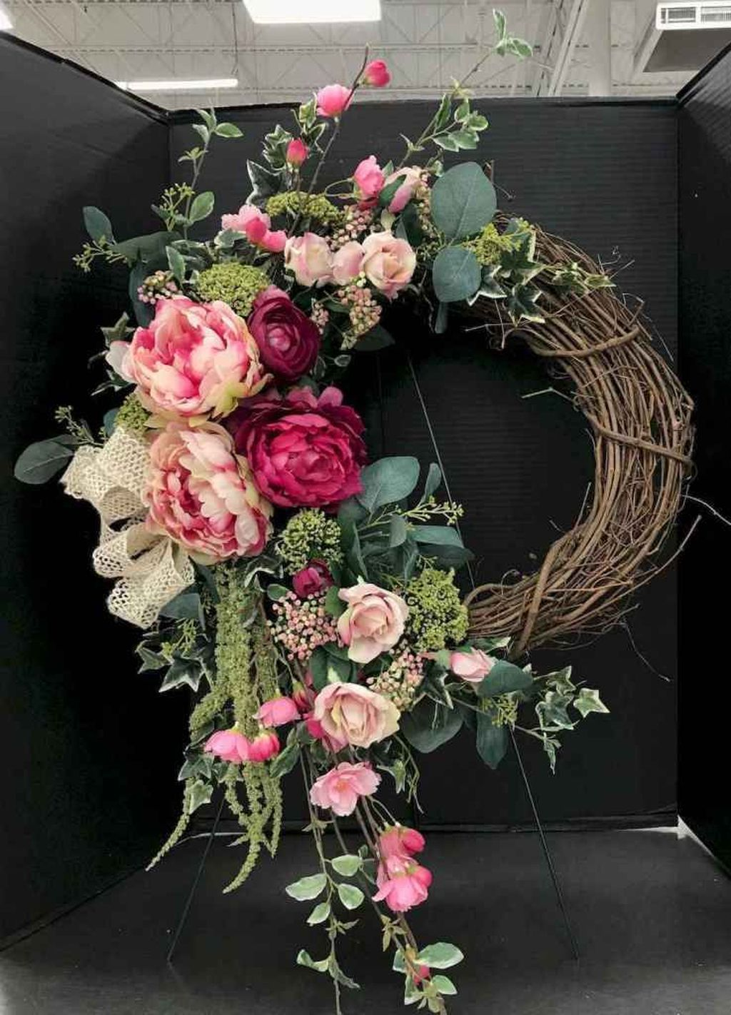 Inspiring Spring Door Wreaths For Your Home Decoration 05