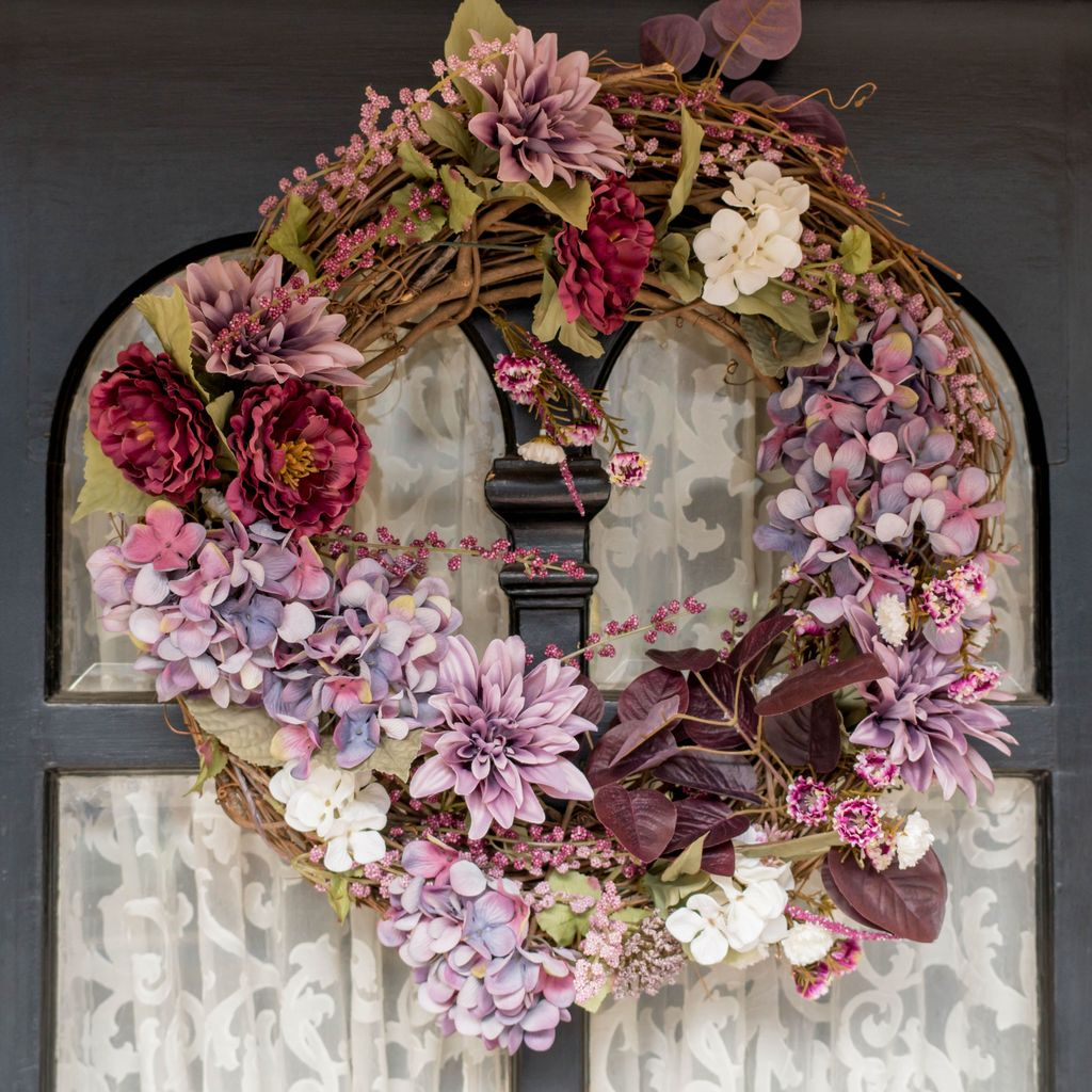 Inspiring Spring Door Wreaths For Your Home Decoration 27