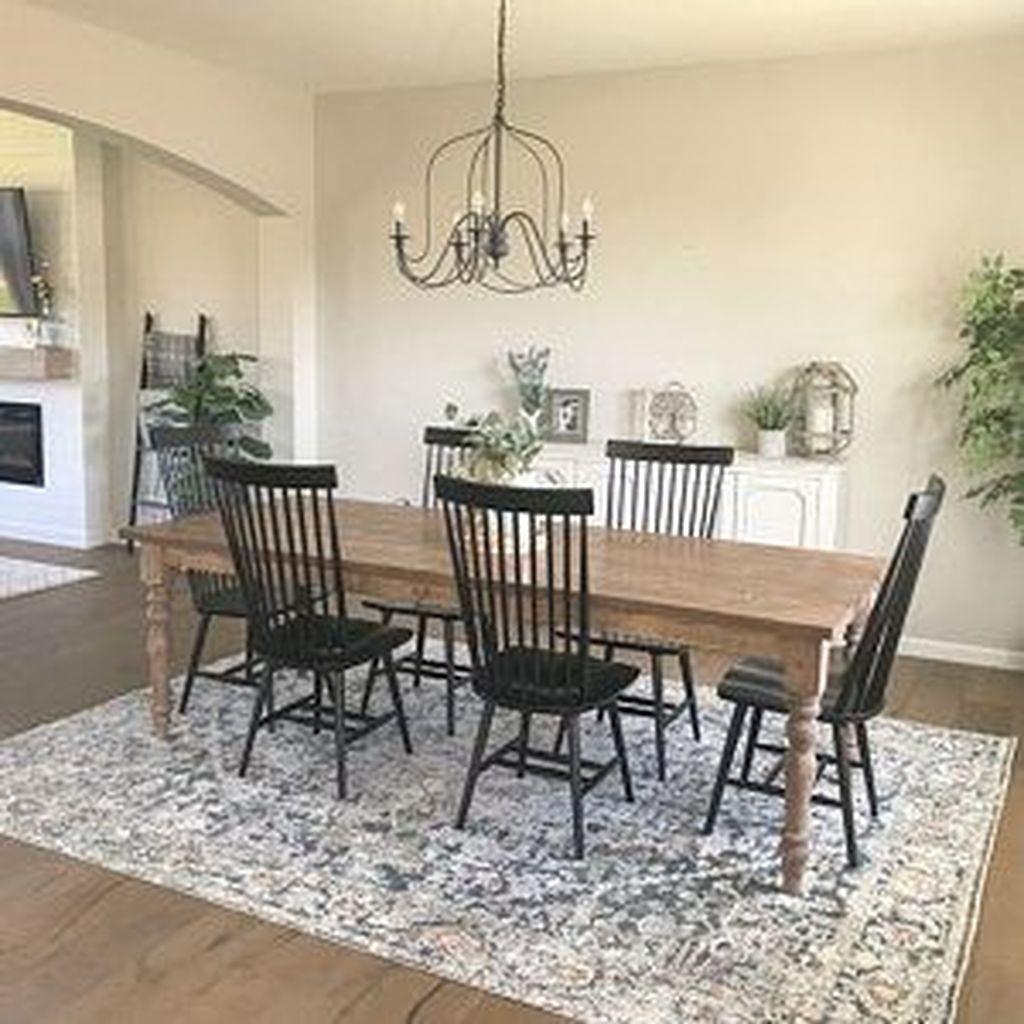 Stunning Modern Farmhouse Kitchen Table Design Ideas 02