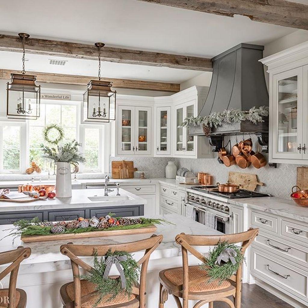 Stunning Modern Farmhouse Kitchen Table Design Ideas 06