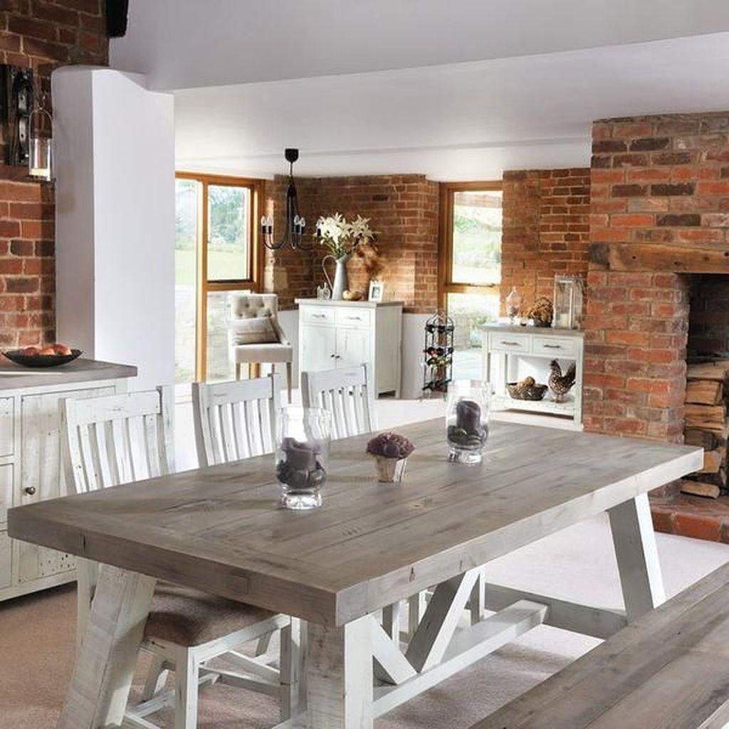 Stunning Modern Farmhouse Kitchen Table Design Ideas 19