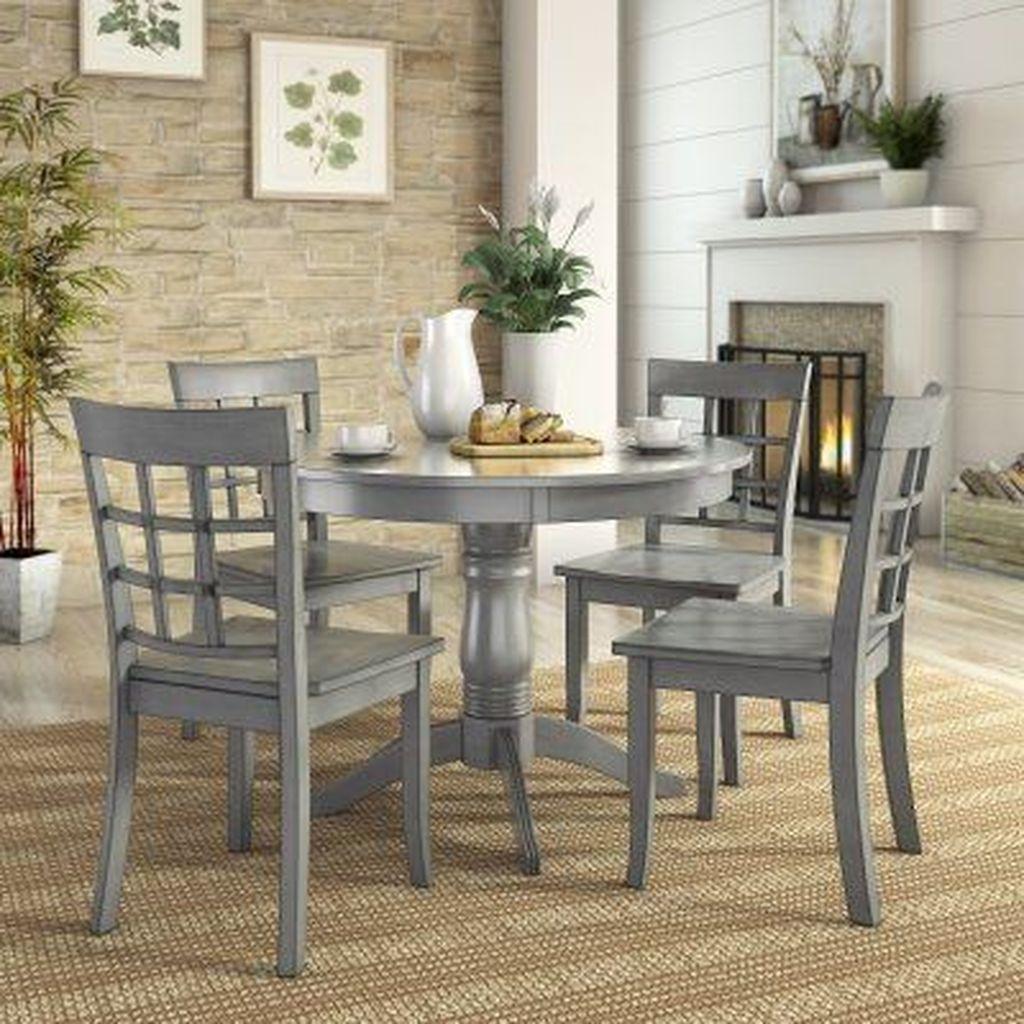 Stunning Modern Farmhouse Kitchen Table Design Ideas 24