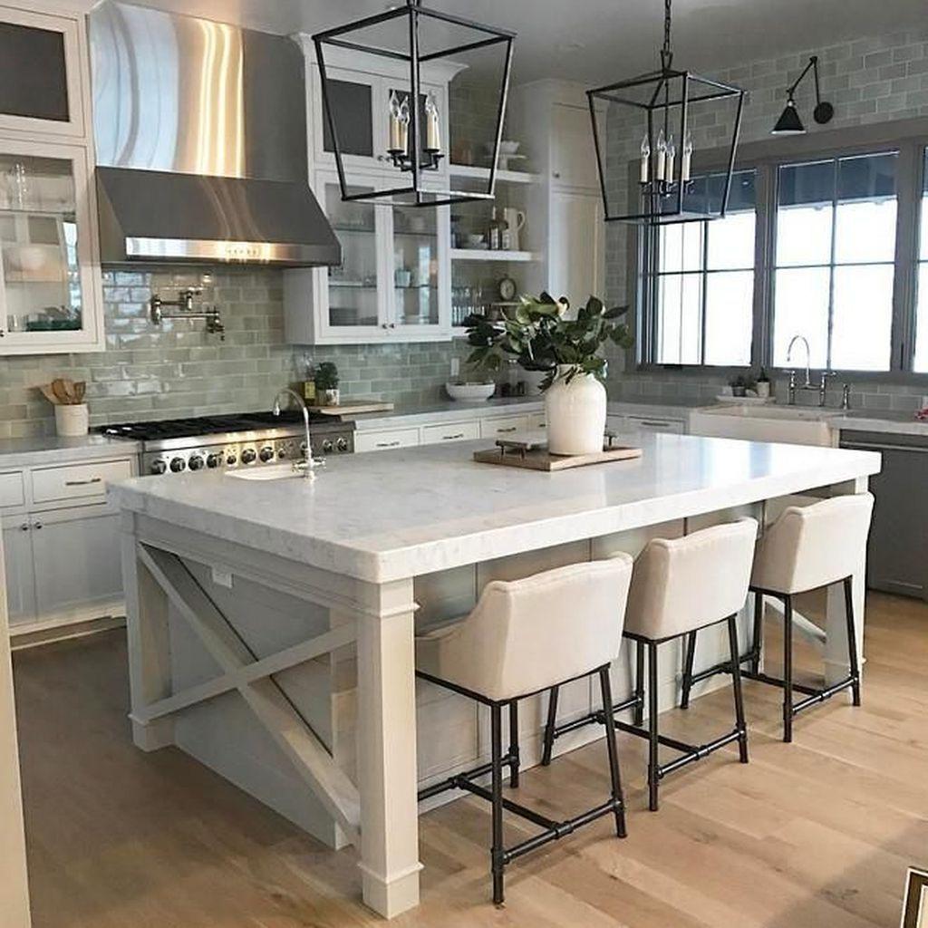 Stunning Modern Farmhouse Kitchen Table Design Ideas 28
