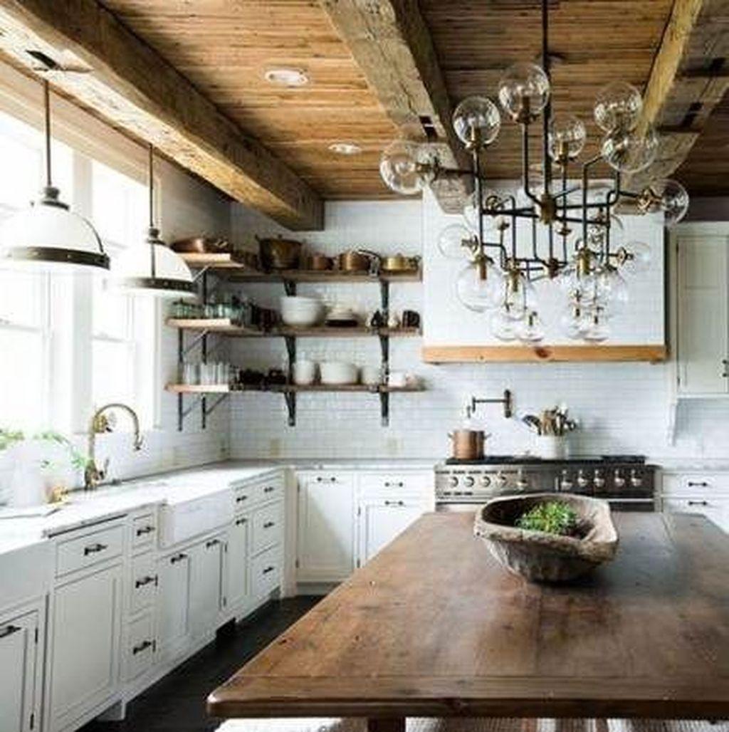 Stunning Modern Farmhouse Kitchen Table Design Ideas 30