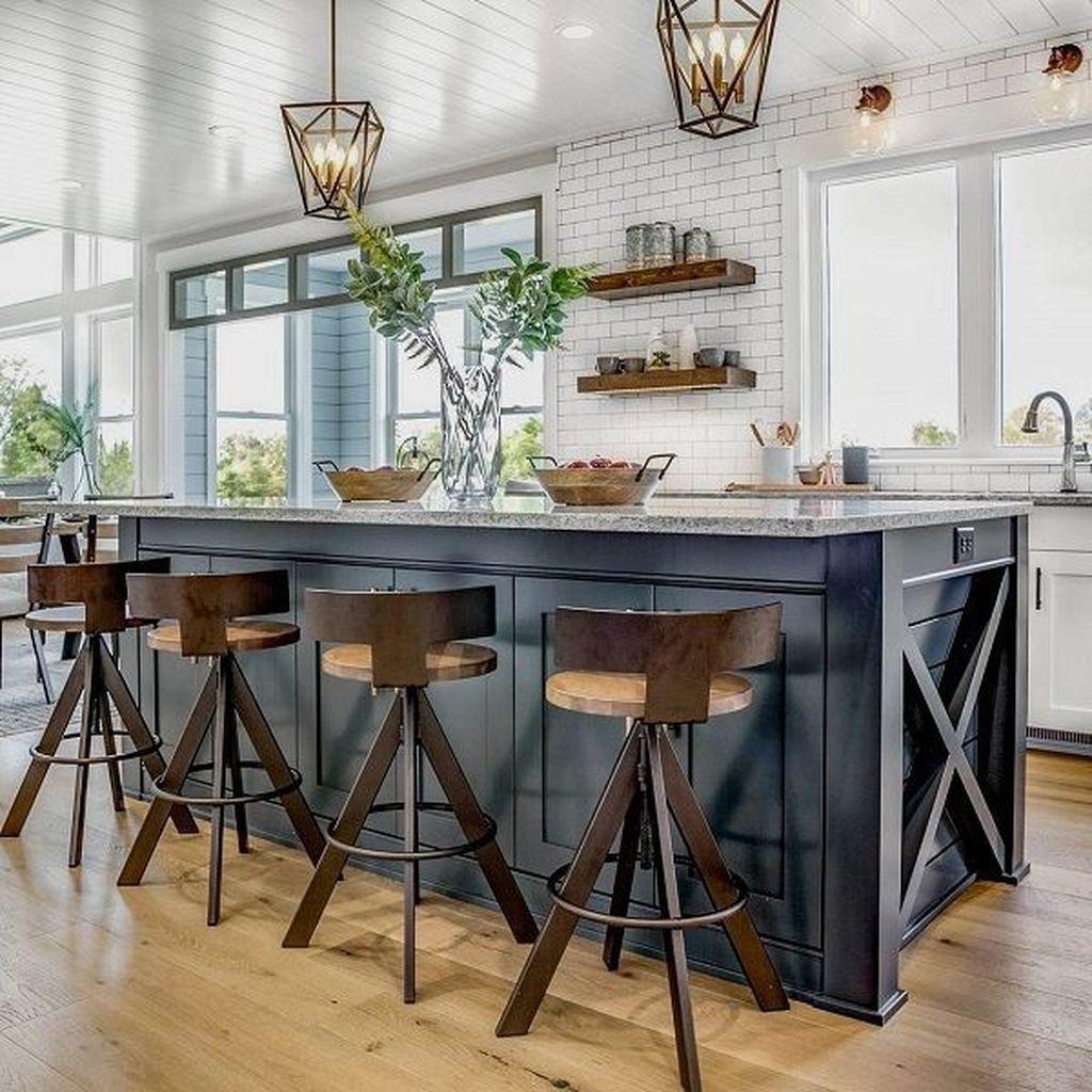 Stunning Modern Farmhouse Kitchen Table Design Ideas 33