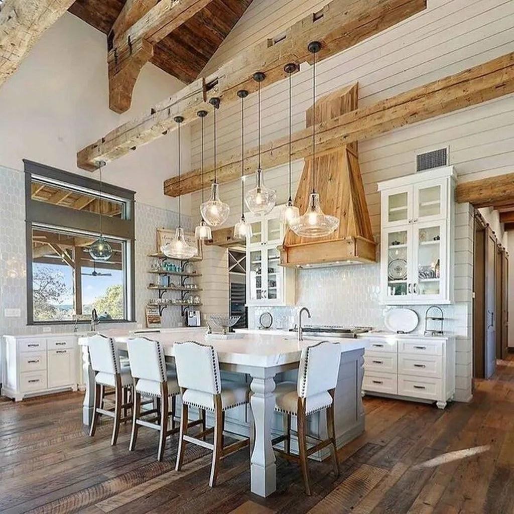 Stunning Modern Farmhouse Kitchen Table Design Ideas 35
