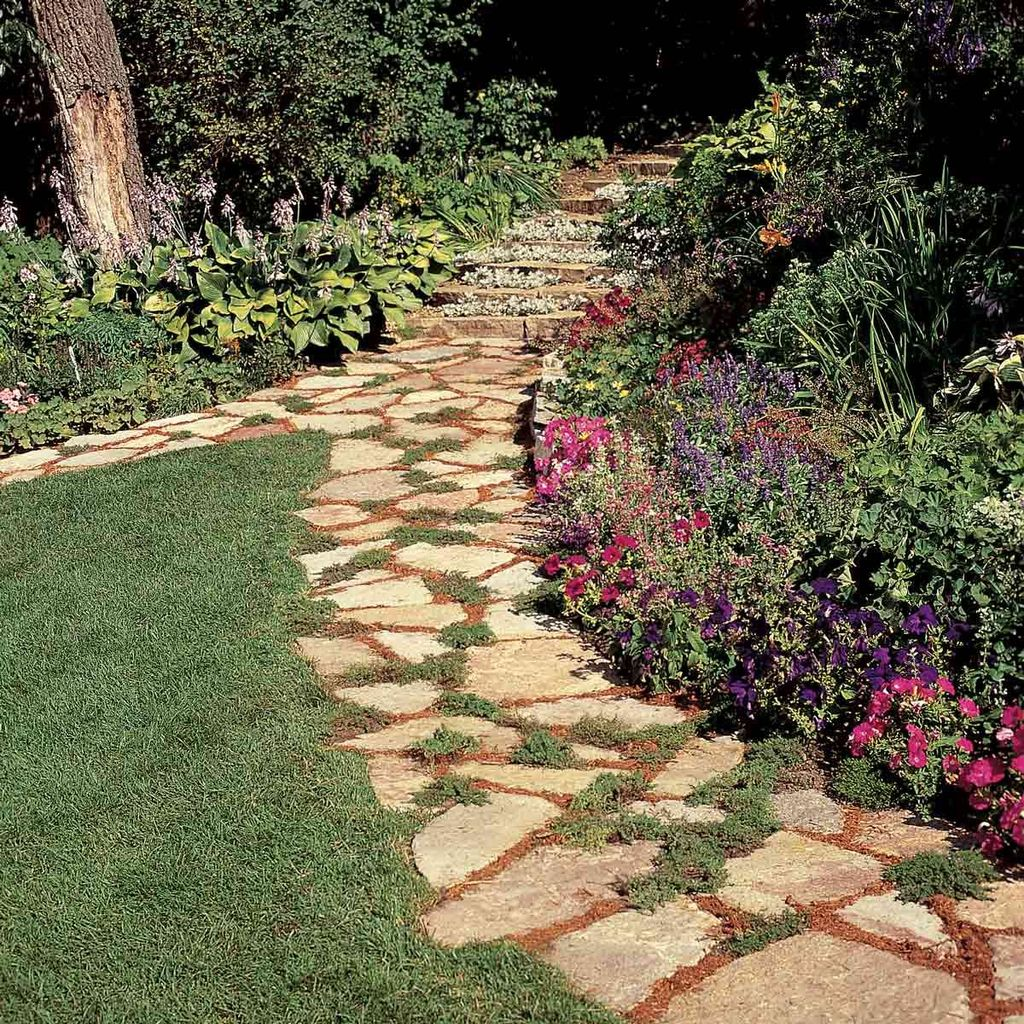 Stunning Stepping Stones Pathway Design Ideas 31