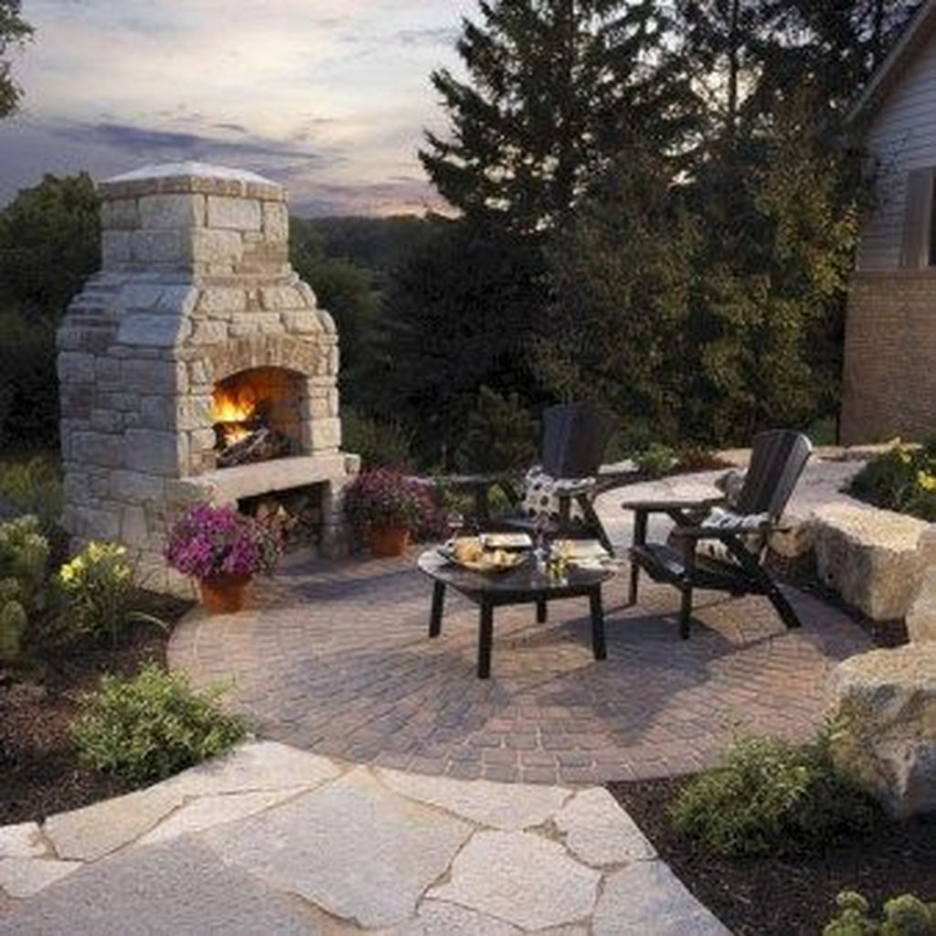 The Best Backyard Fireplace Design Ideas You Must Have 04