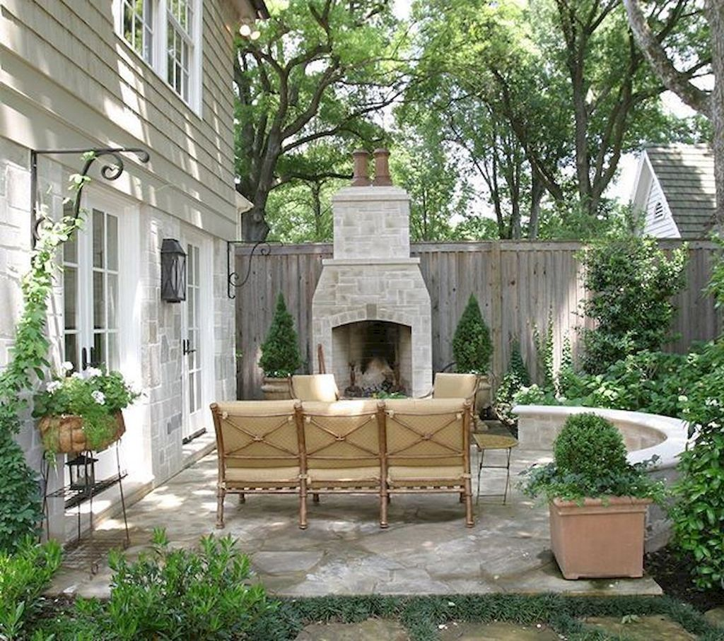 The Best Backyard Fireplace Design Ideas You Must Have 06