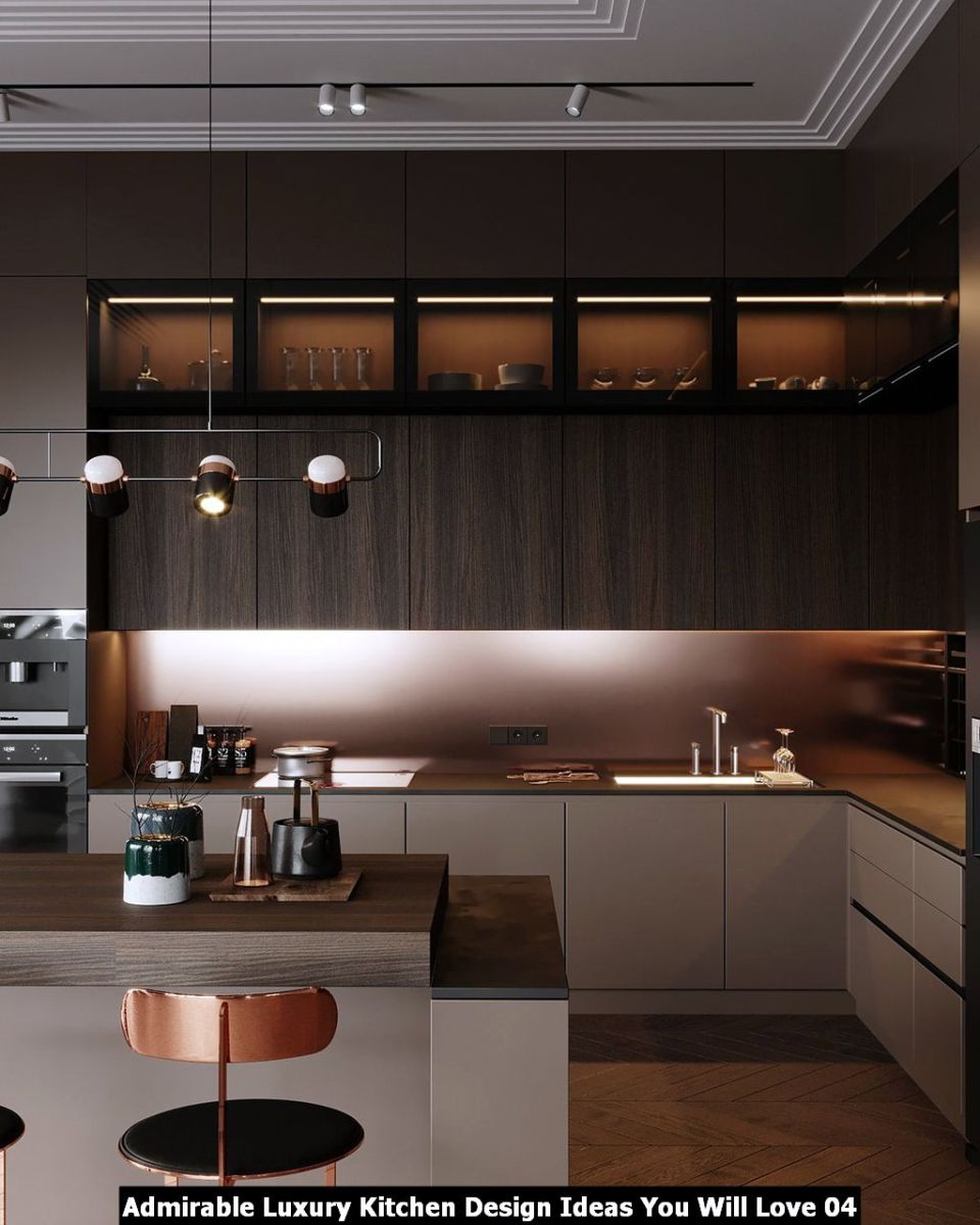 Admirable Luxury Kitchen Design Ideas You Will Love 04