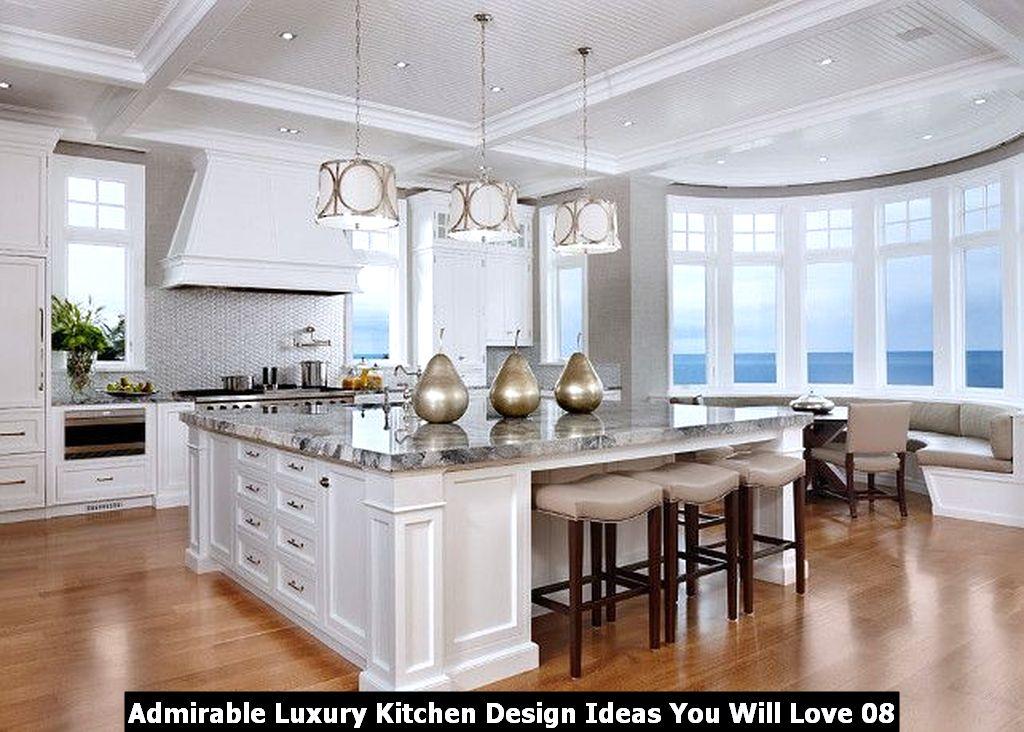 Admirable Luxury Kitchen Design Ideas You Will Love 08