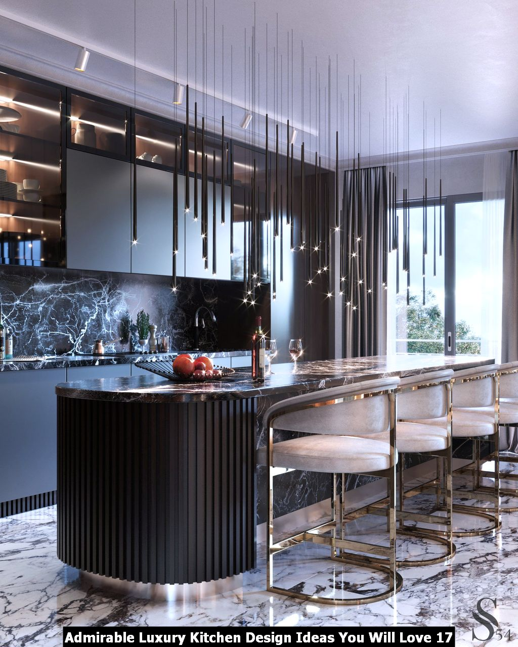Admirable Luxury Kitchen Design Ideas You Will Love 17