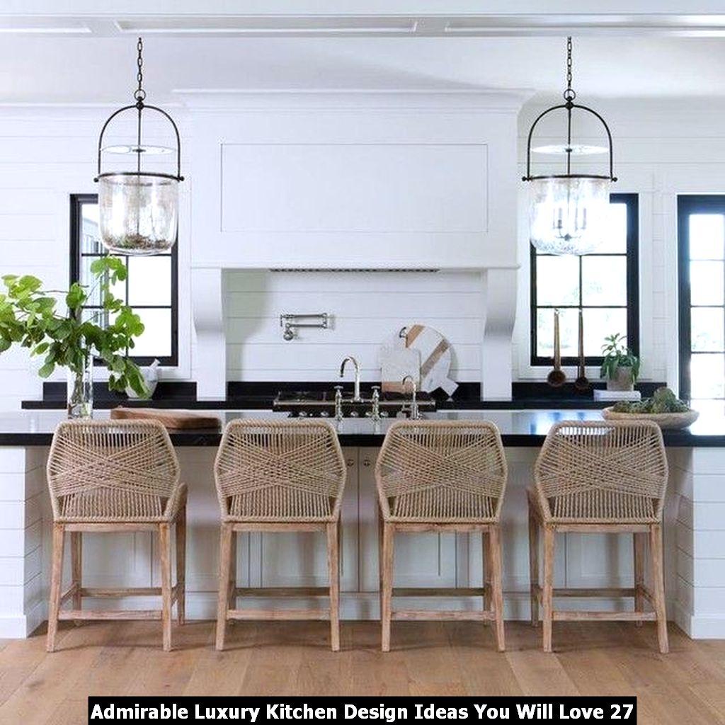 Admirable Luxury Kitchen Design Ideas You Will Love 27