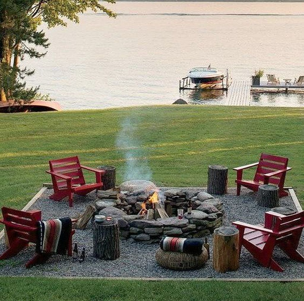 Amazing Fire Pit Design Ideas For Your Backyard Decor 15