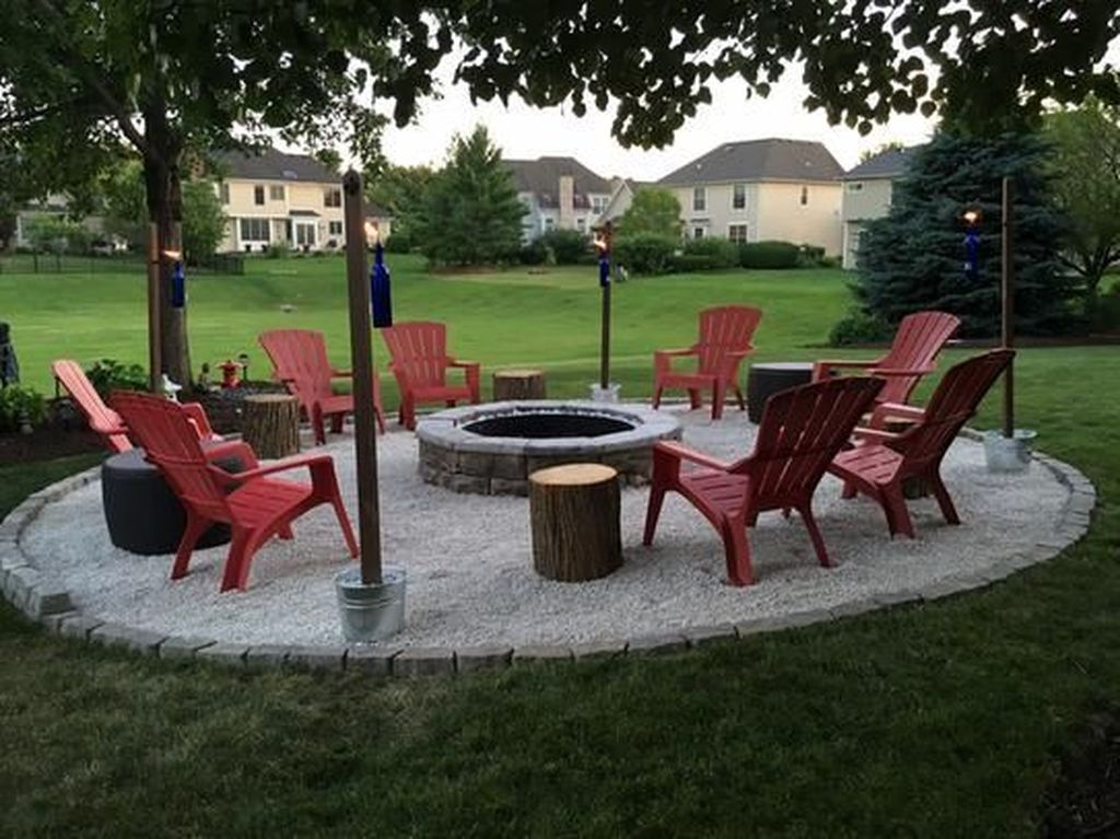 Amazing Fire Pit Design Ideas For Your Backyard Decor 31