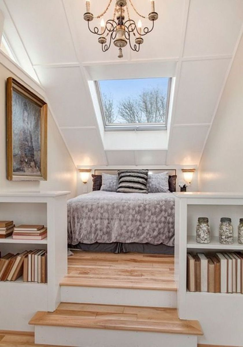 Awesome Attic Bedroom Decorating Ideas You Will Love 10