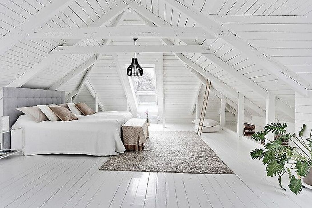 Awesome Attic Bedroom Decorating Ideas You Will Love 14