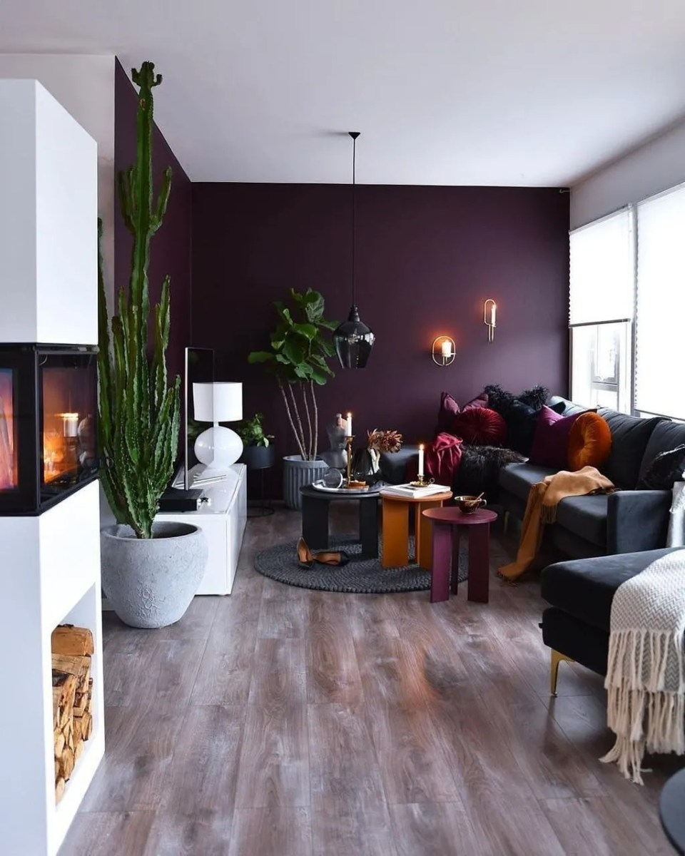 Brilliant Accent Wall Ideas For Living Room 08