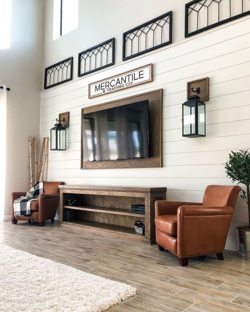 Brilliant Accent Wall Ideas For Living Room 11