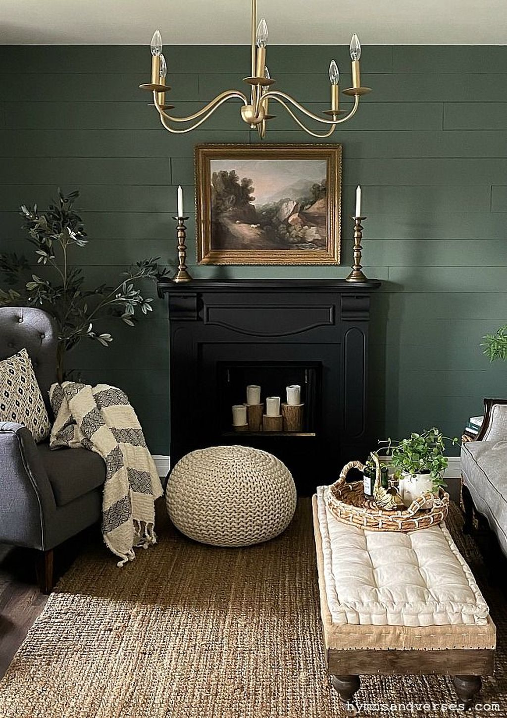 Brilliant Accent Wall Ideas For Living Room 21