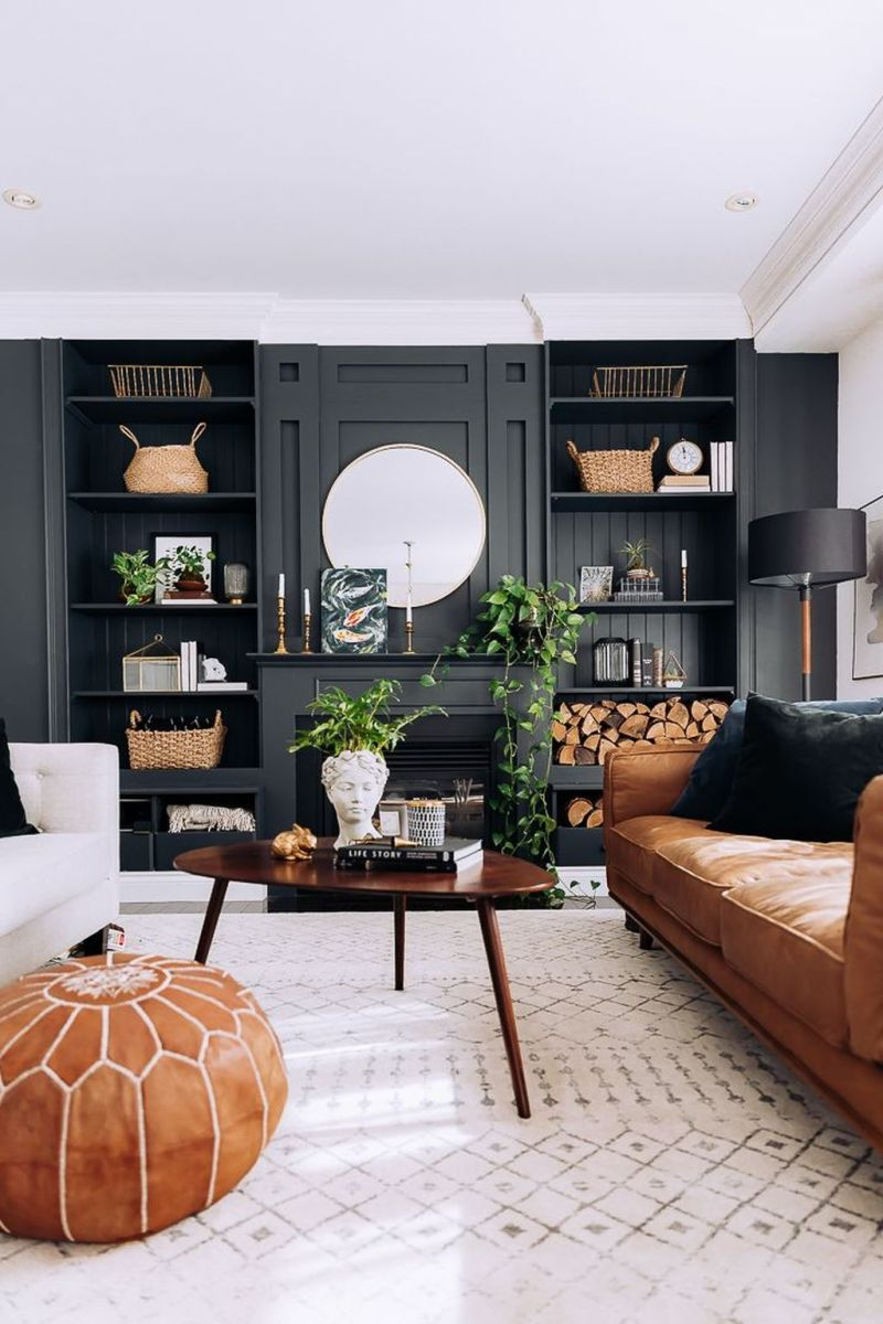 Brilliant Accent Wall Ideas For Living Room 27