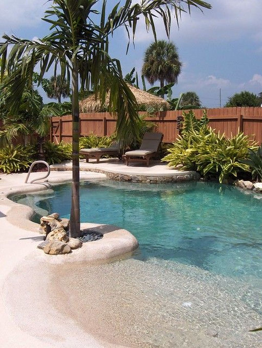 Fabulous Backyard Pool Landscaping Ideas You Never Seen Before 22
