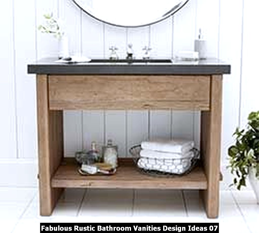 Fabulous Rustic Bathroom Vanities Design Ideas 07