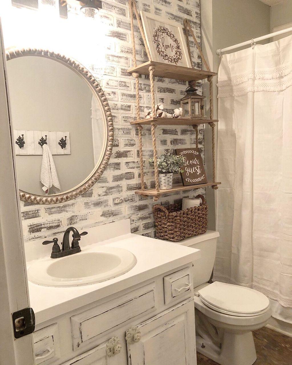 Fascinating Rustic Bathroom Decor Ideas You Must Copy 01