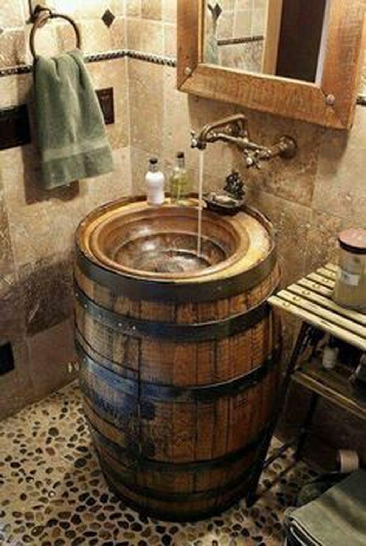 Fascinating Rustic Bathroom Decor Ideas You Must Copy 04