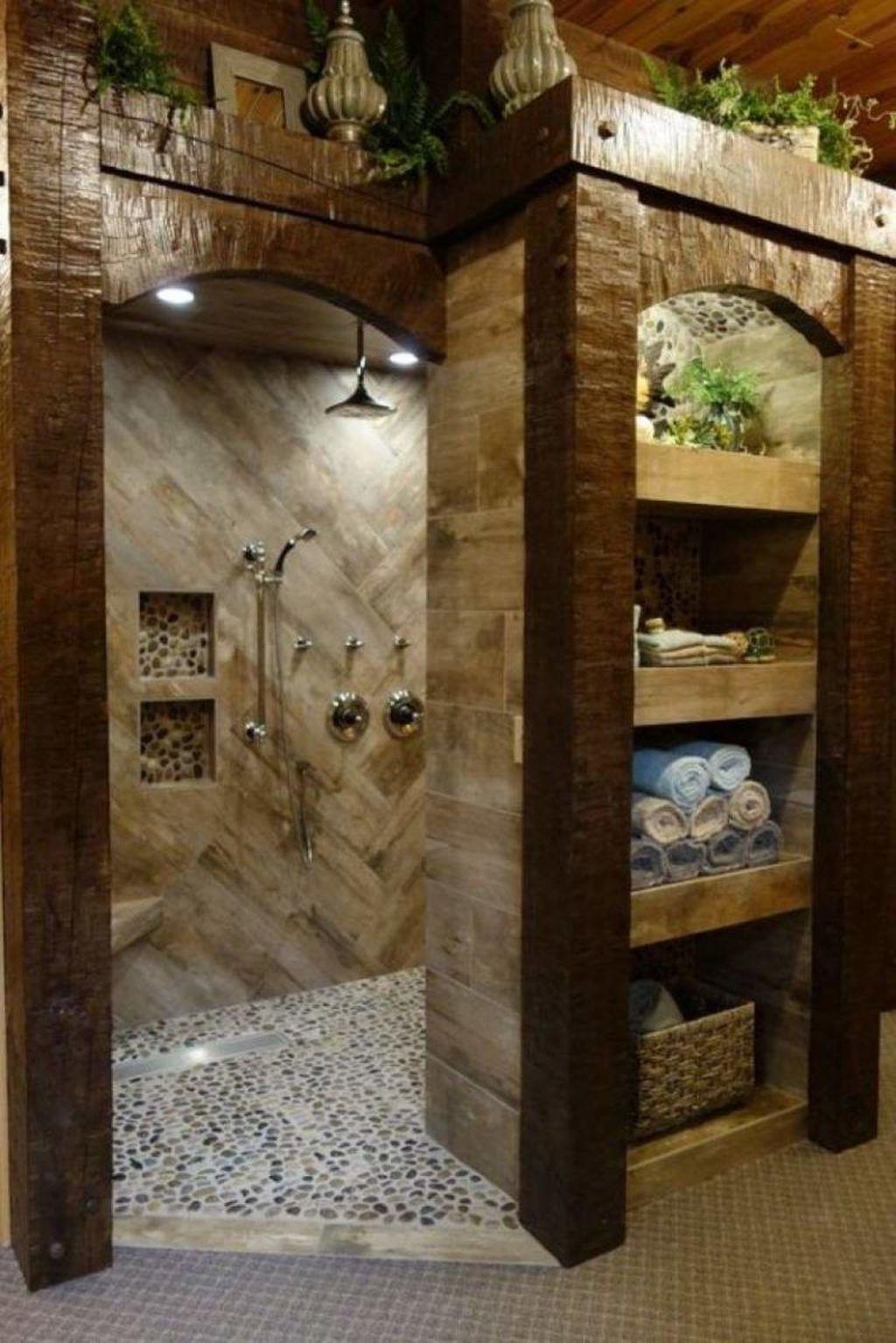 Fascinating Rustic Bathroom Decor Ideas You Must Copy 08