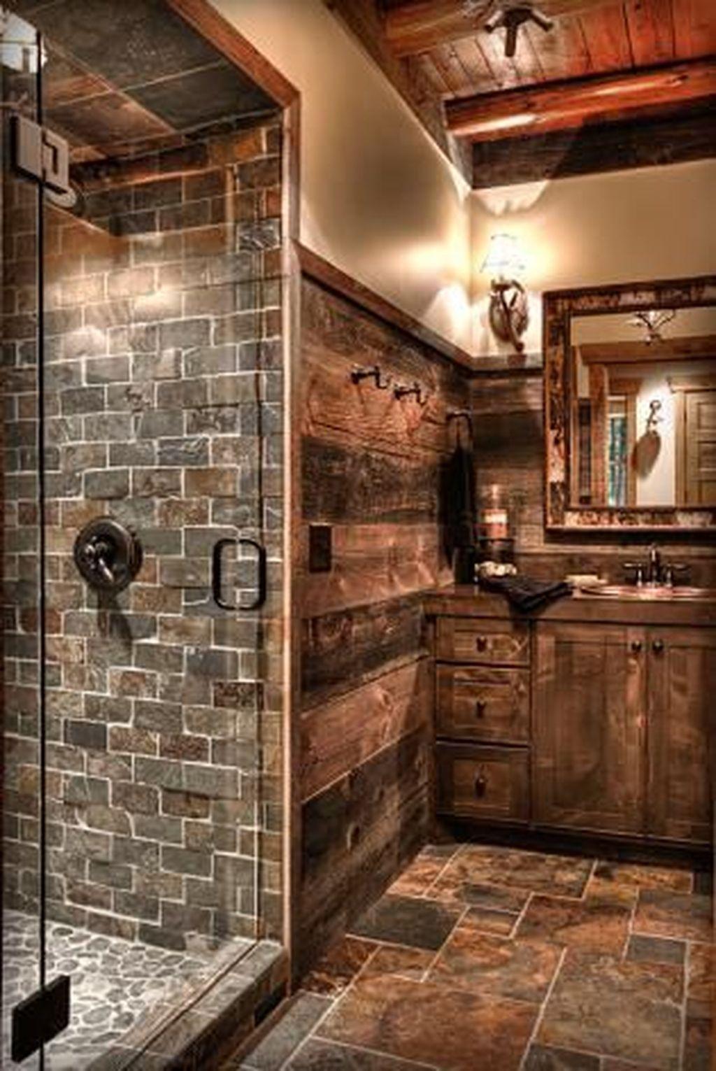 Fascinating Rustic Bathroom Decor Ideas You Must Copy 13